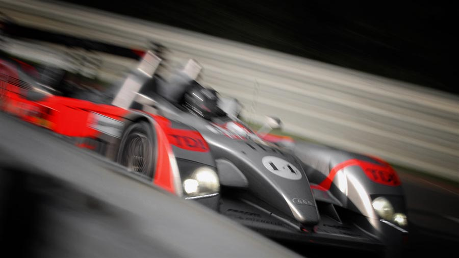 1ST AUDI R10 TESTS FOR THE TEAM BEFORE LE MANS