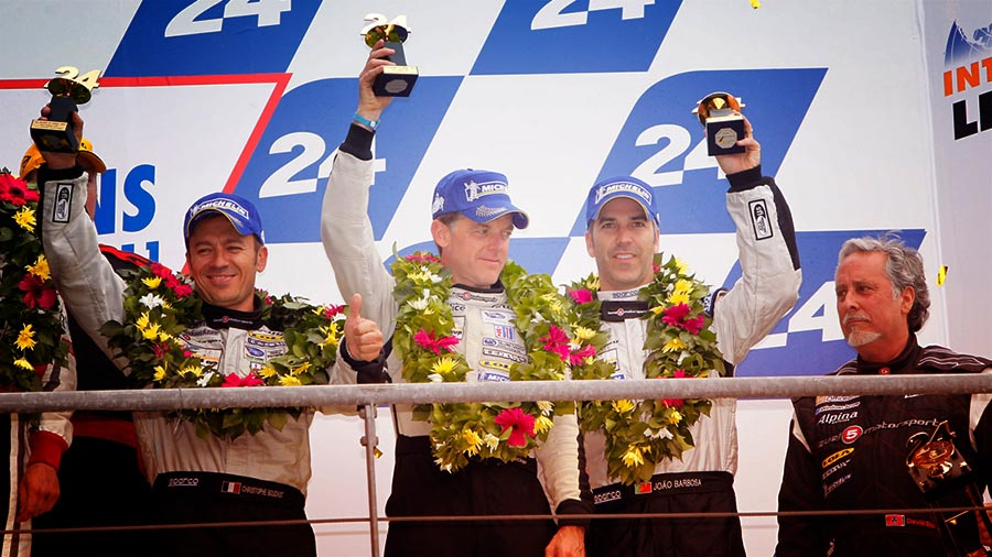 PODIUM FOR KENNOL AT 24H OF THE MANS!