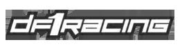 DF1 RACING grey logo