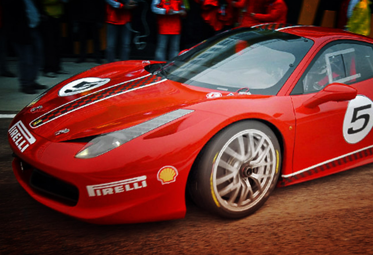 UNVEILING THE NEW FERRARI 458 CHALLENGE…