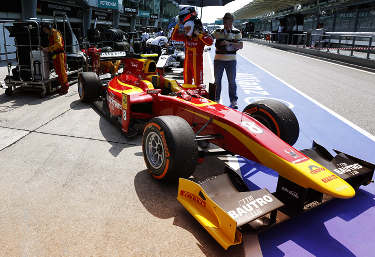 FIRST GP2 RACE AND FIRST WIN FOR KENNOL IN SEPANG!