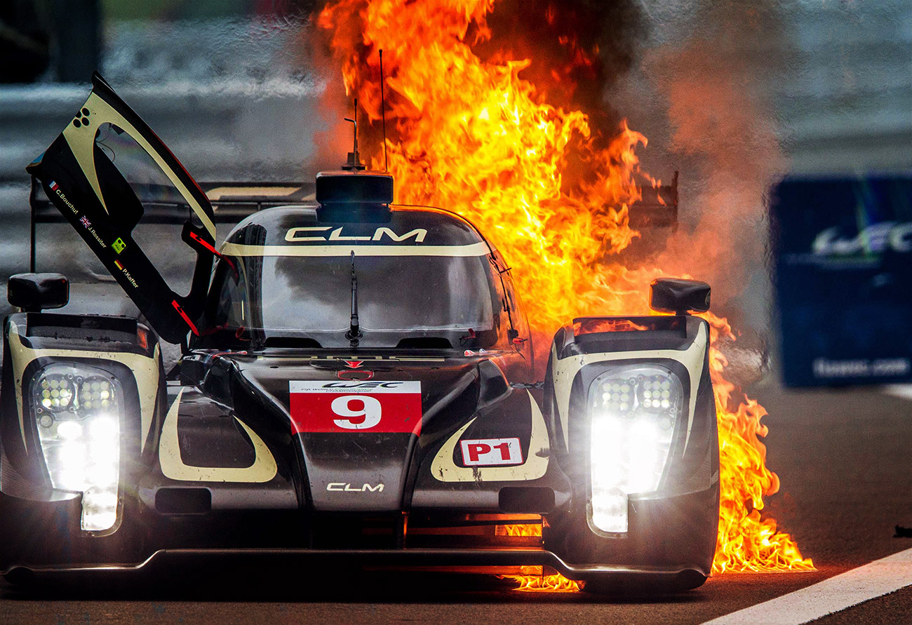 VIDEO: NO INJURIES FOR BOUCHUT AFTER LMP1 FIRE.
