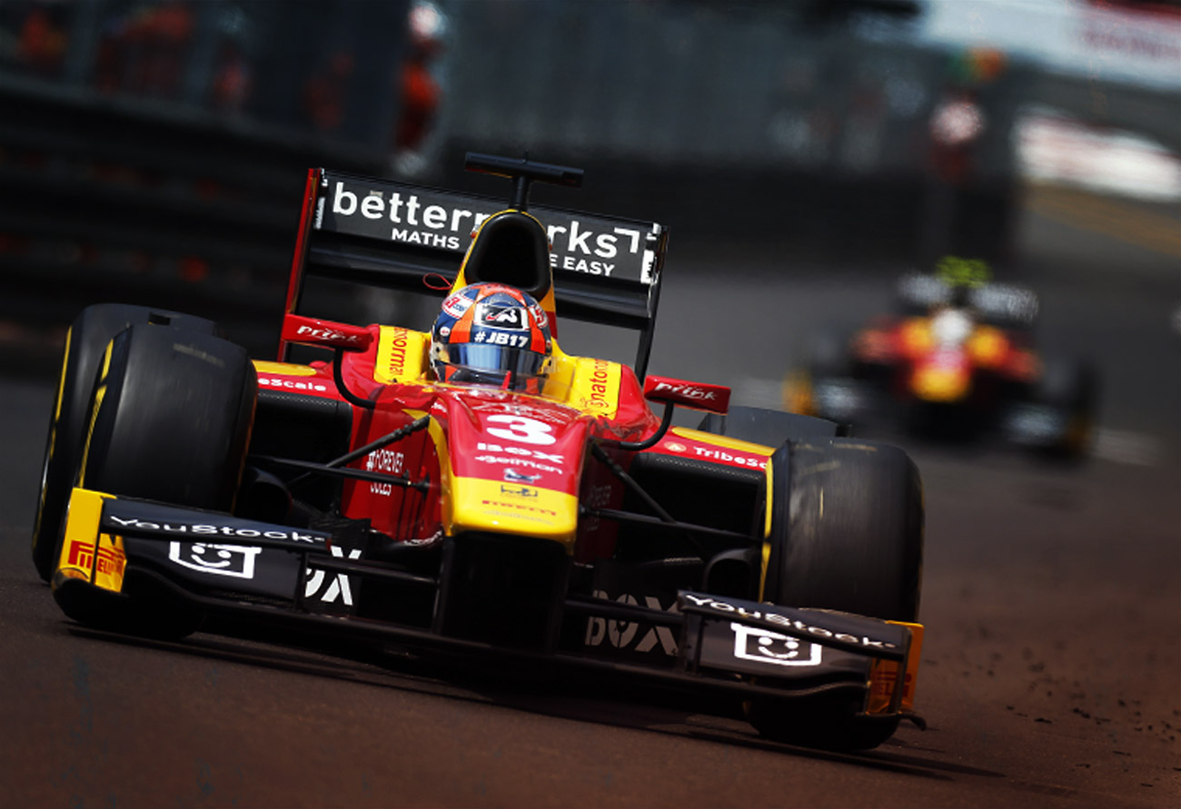 GP2: MONACO PODIUM AND CHAMPIONSHIP LEADER!