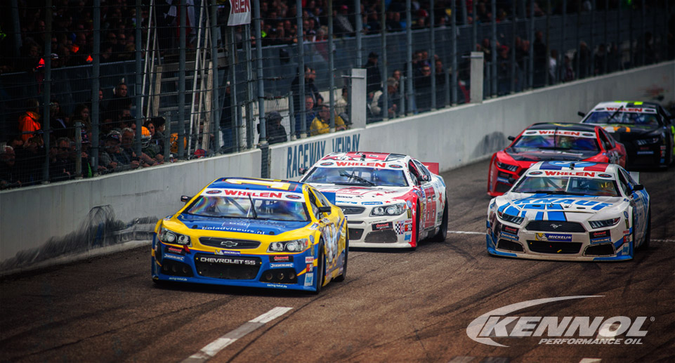 KENNOL OFFICIAL SUPPLIER OF NASCAR EURO SERIES.