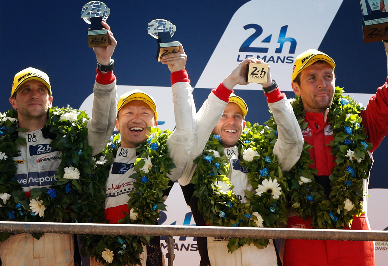 KENNOL PODIUMS AT 24H OF LE MANS!