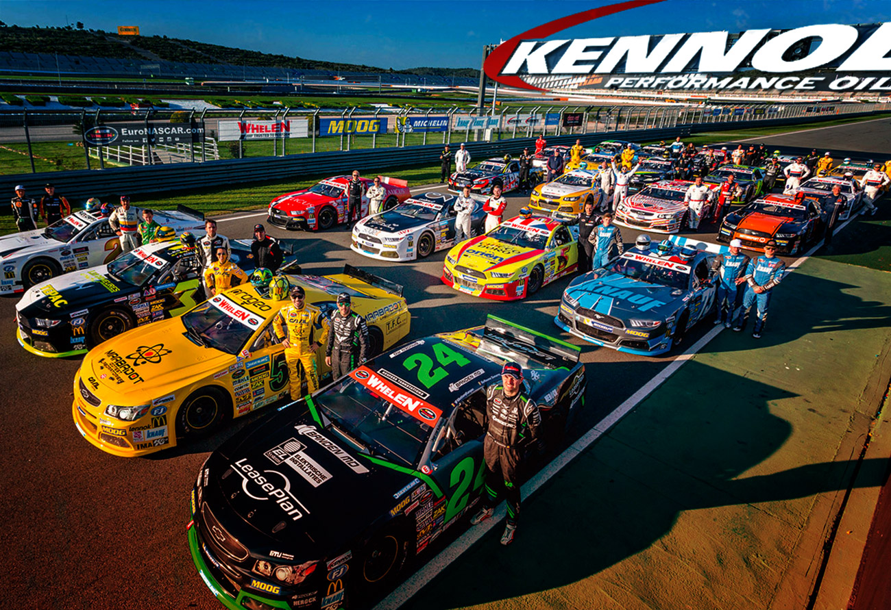 EURO NASCAR: A 1ST YEAR AS OFFICIAL SUPPLIER
