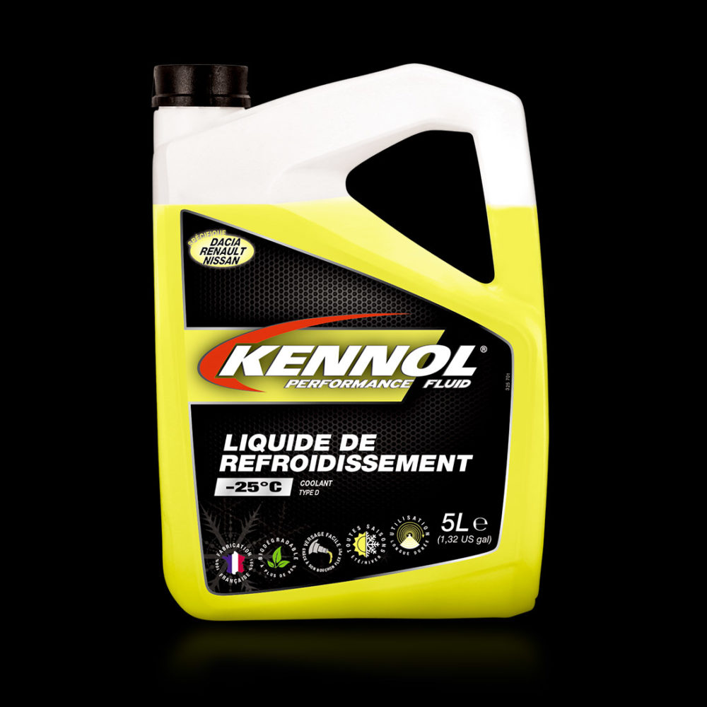 KENNOL BIO COOLANTS TYPE D -25°C packshot.