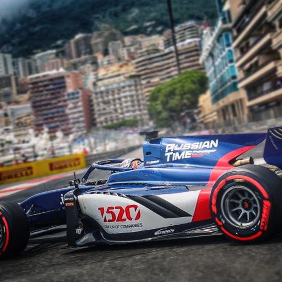 FIA F2: VICTORY IN MONACO.
