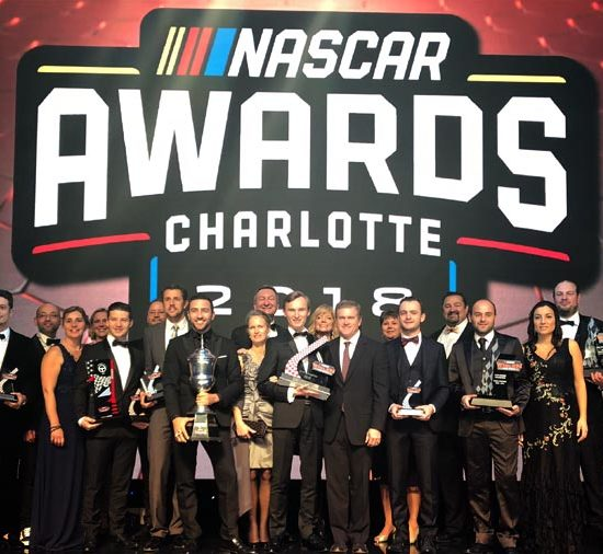 KENNOL has been honoured, entering the NASCAR Hall of Fame, in Charlotte, Florida, for the 2018 NASCAR Awards.