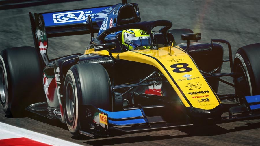 New pole and double podium for KENNOL in FIA Formula 2