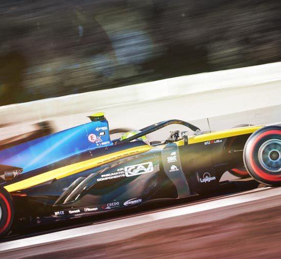 KENNOL and UNI Virtuosi partner for the 2019 FIA F2 season.