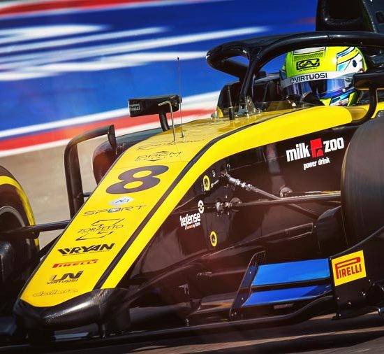 Virtuosi Racing and KENNOL claim a new victory in the 2019 FIA F2 World Championship. Luca GHIOTTO records Sochi win as the team grabs points for the title.