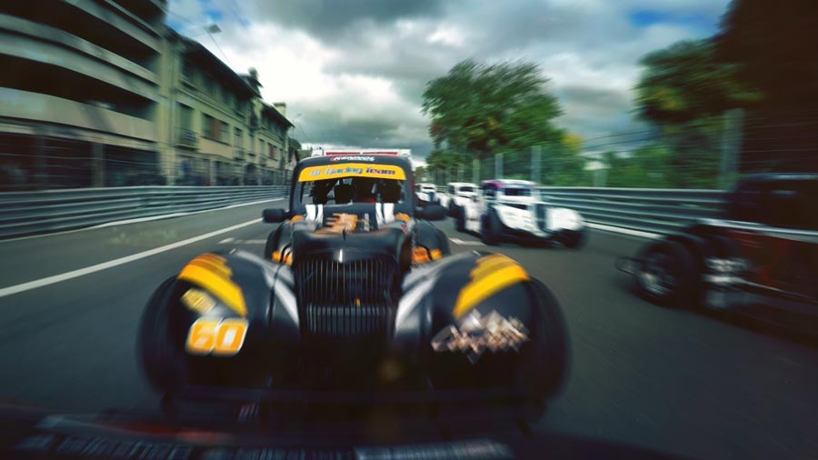 KENNOL takes multiple podiums and wins in Legends Cars Cup in Pau Grand Prix