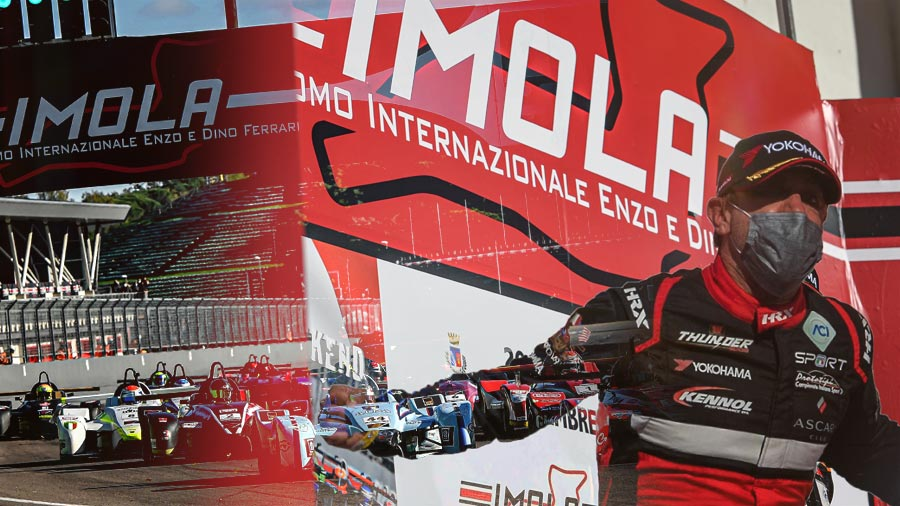 For the last race of this strange season, reigning champion Giacomo POLLINI clinches his second title in CISP!