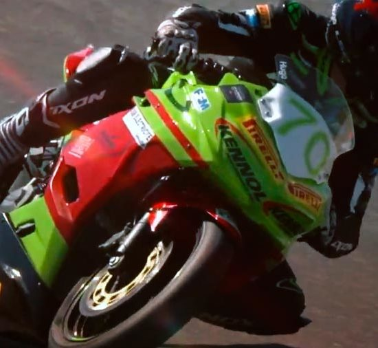 Hugo GIRARDET and KENNOL enter the FIM World SSP300.