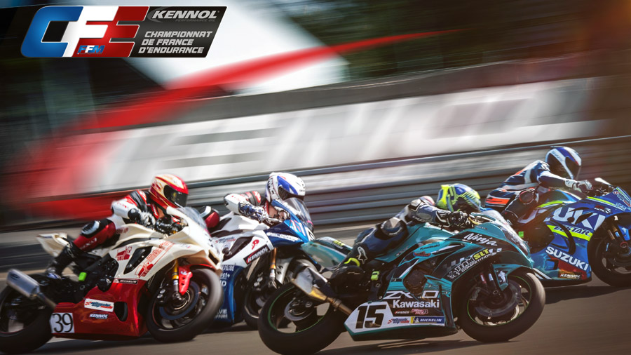 Throught Ultimate Cup Moto, KENNOL is the Official Supplier of the highly competitive FFM French Endurance Championship.