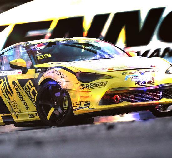 Adam Zalewski's KENNOL sponsored Toyota GT86 clinches à podium in Drift Masters European Championship!