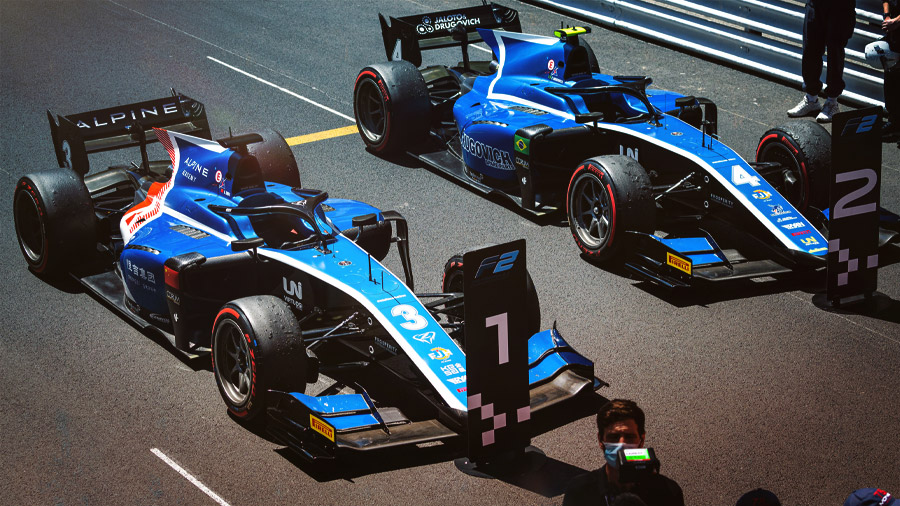 Virtuosi Racing and KENNOL clinched a victory and double-podium in Monaco GP, for the 2nd weekend of the 2021 FIA Formula 2 season!
