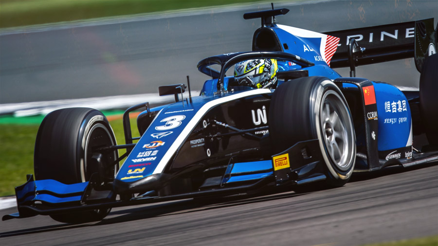 KENNOL-sponsored Formula 2 driven by Chinese prodigy Guanyu Zhou won in last weekend's British GP in Silverstone.