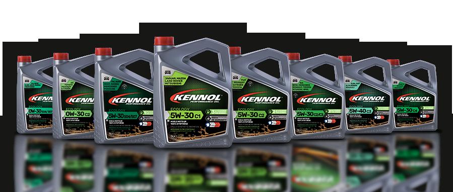 KENNOL ECOLOGY range packshot.