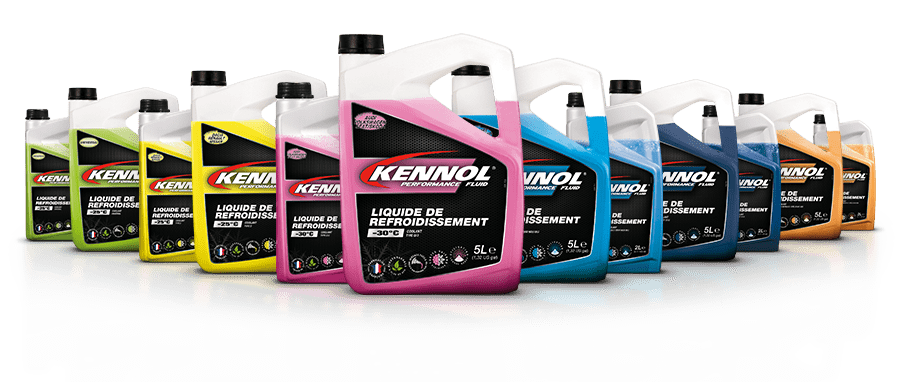Manufacturers' coolants range packshot