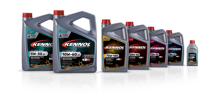 The KENNOL ULTIMA range has been developed with Euro NASCAR