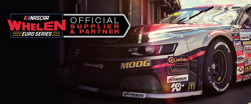 OFFICIAL SUPPLIER AND PARTNER EURO NASCAR CHAMPIONSHIP