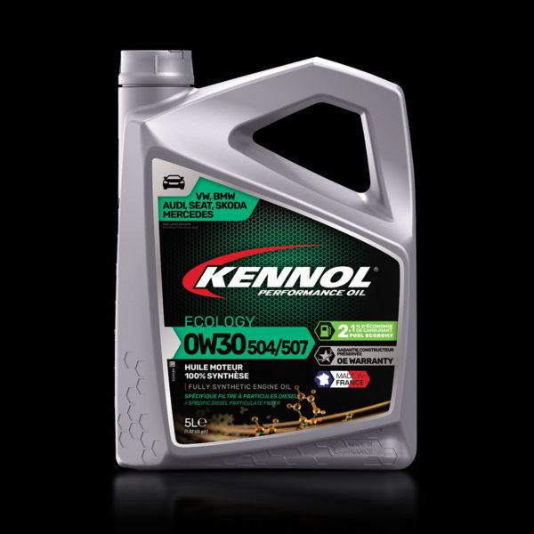 KENNOL ECOLOGY 504/507 0W30 front packshot