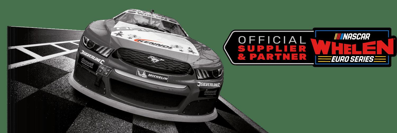 NASCAR WHELEN EURO SERIES official supplier and partner of KENNOL.