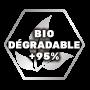 Produit KENNOL biodégradable à plus de 95% selon la méthode OCDE 302B.