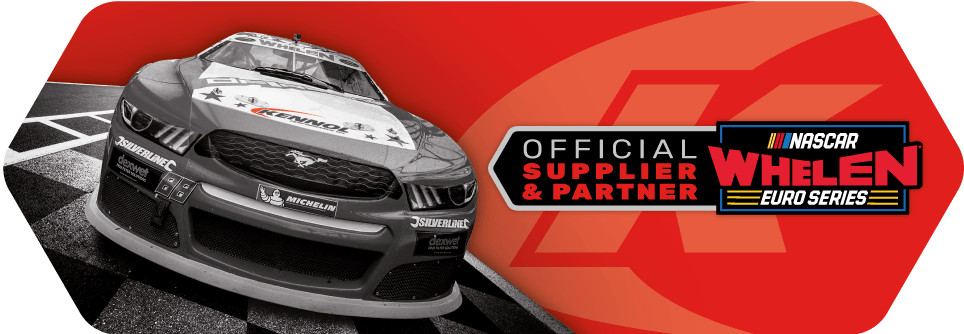 NASCAR WHELEN EURO SERIES official supplier and partner of KENNOL.