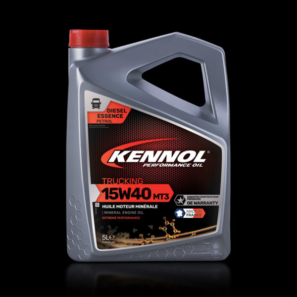 KENNOL TRUCKING MT.3 15W40 front packshot